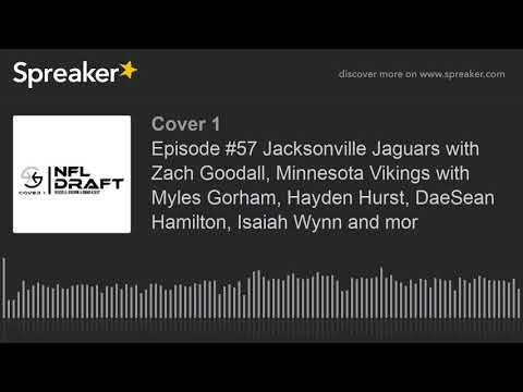 Cover 1   NFL Draft Episode #57 Jacksonville Jaguars with Zach Goodall