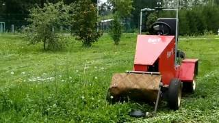 Tractor with remote control