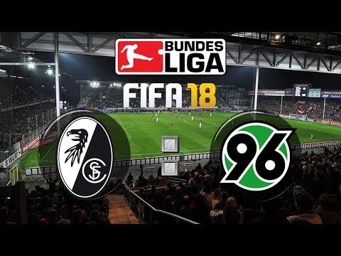 FIFA 18 Bundesliga Sport-Club Freiburg : Hannover 96 | Gameplay Deutsch Livestream