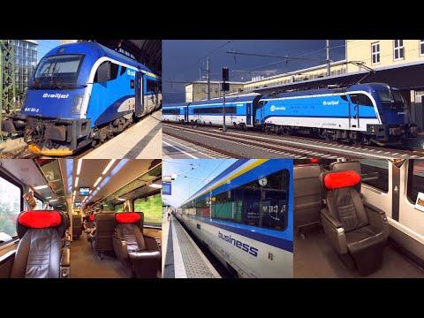 "ČD Railjet ""Vindobona"" in Business Class Berlin - Vienna - Graz"