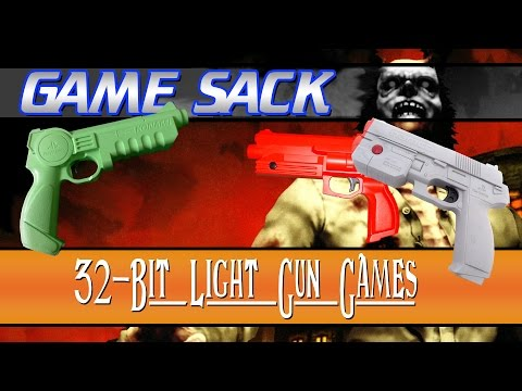 32-Bit Light Gun Games - Game Sack