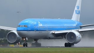 PURE B777 Engine POWER! What an Amazing GE-90 Sound!