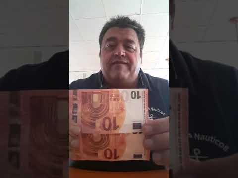 Alertan de billetes falsos de 10 euros que se distribuyen en pequeños negocios