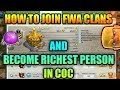 WOW {HOW TO JOIN FWA CLAN the best trick..}