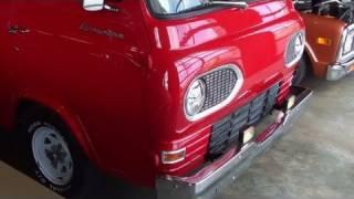 Custom 1964 Ford Econoline hot rod - Mini Semi