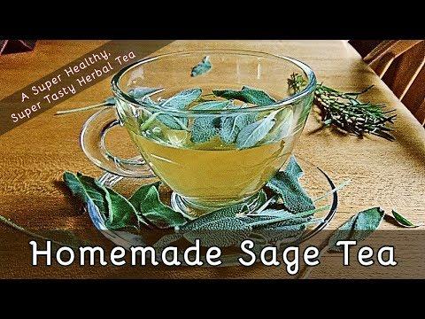 How To Make Sage Tea | A Super Healthy, Super Tasty Herbal Tea | #89