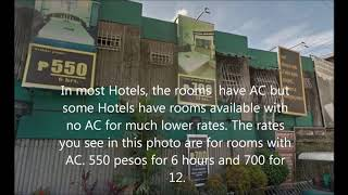Cheap Hotels, Short-Time Hotels in Manila, pay by the hour hotels
