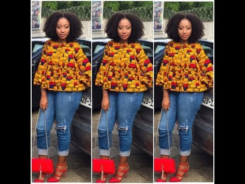 2018 Ankara Tops Design: Simple Classical African Style