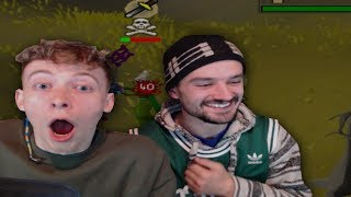 Teaching A Noob How To PK (OSRS)