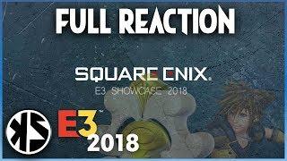 KZ x E3 2018 - SQUARE-ENIX E3 CONFERENCE (FULL REACTION)