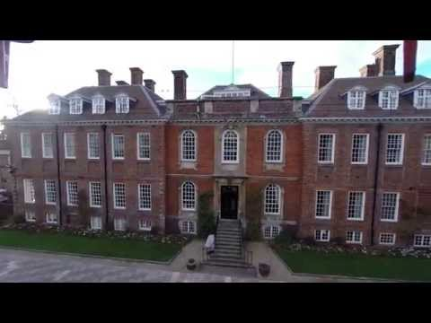 Marlborough College from the Air (Test Flight)