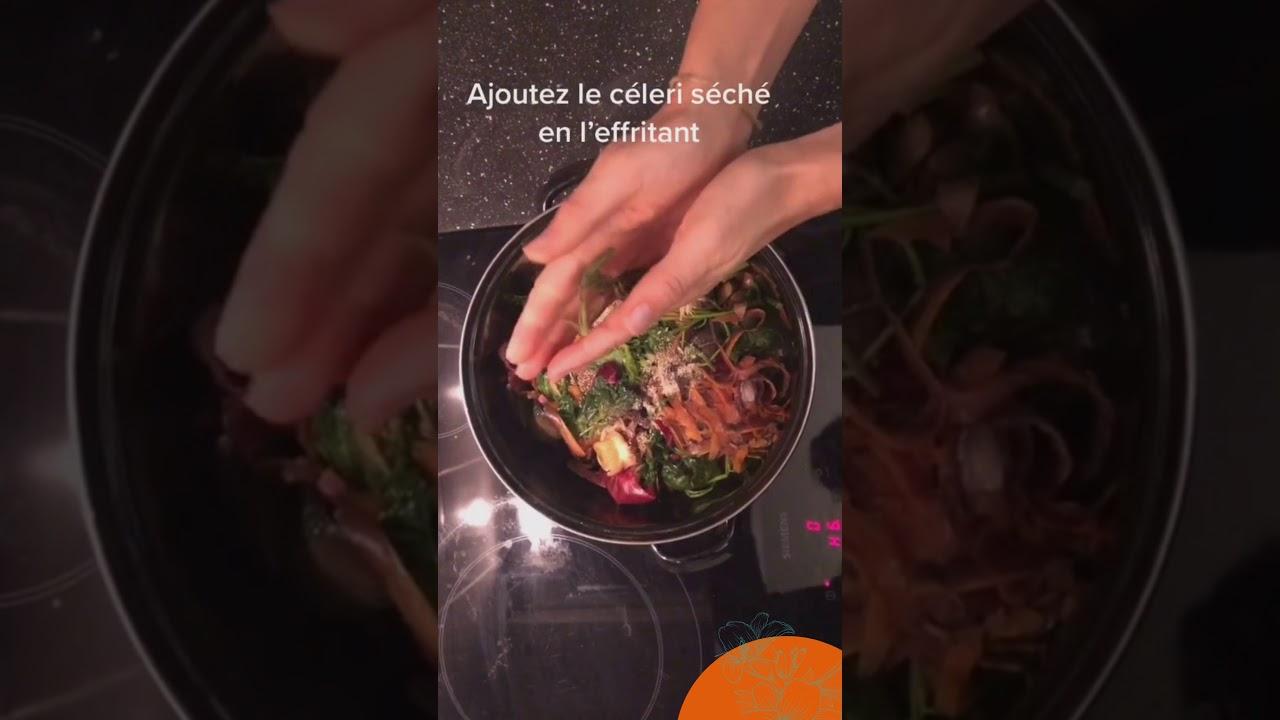 Tuto #03 le bouillon de légumes