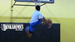 AMAZING Dunks Off Vertical By Jonathan Clark