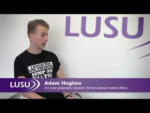 Students on Lancaster University Students' Union