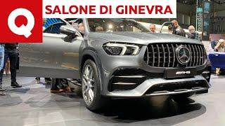Mercedes-AMG GLE 53: antipasto di cattiveria in attesa del V8 - Salone di Ginevra 2019