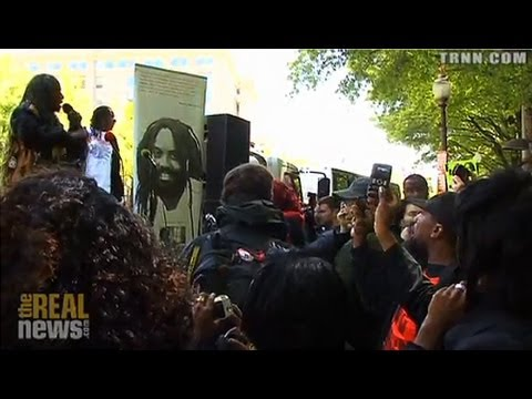"""Occupy the Department of Justice"" Demands Release of Mumia Abu Jamal, End to Mass Incarceration"