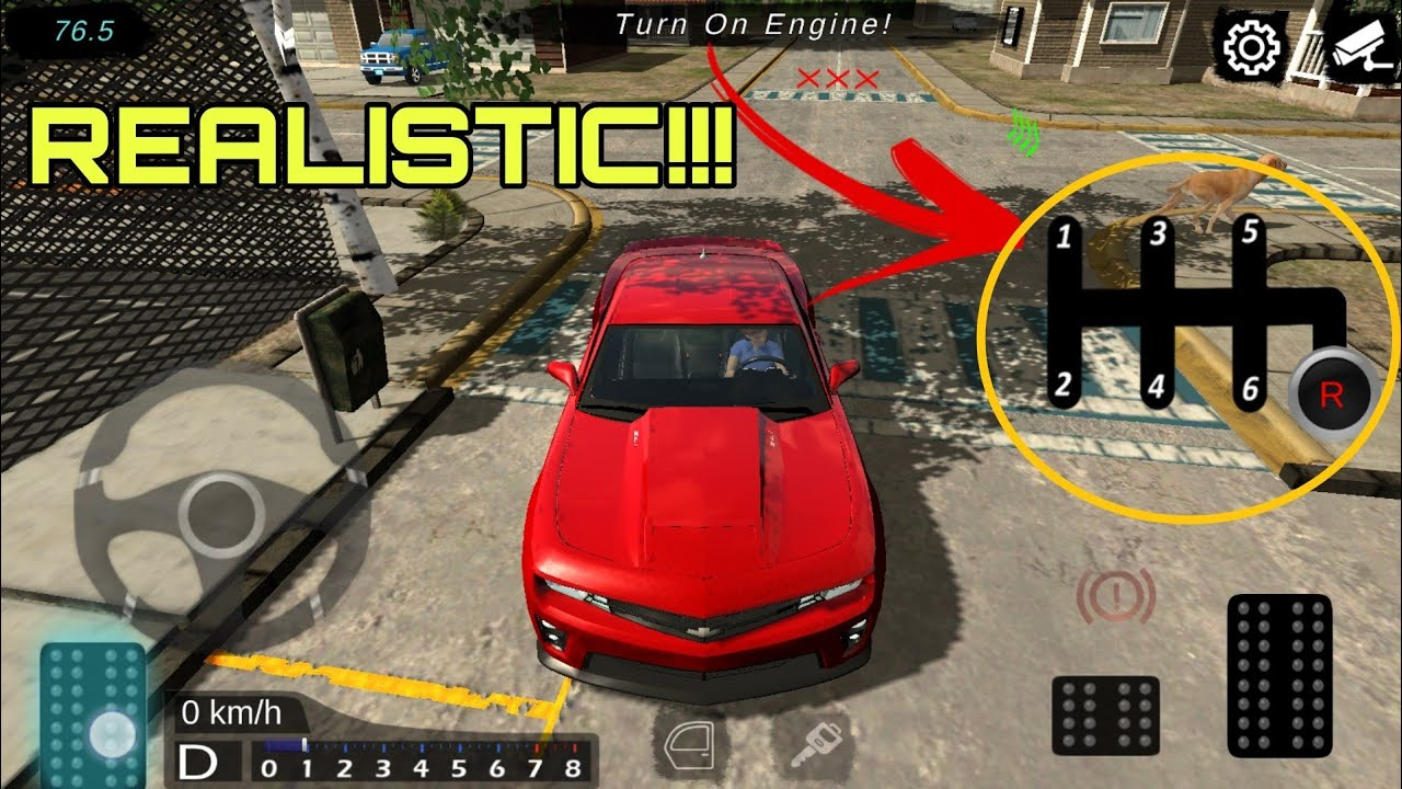 Realistic Car Driving Game Android Offline With Gears Learn