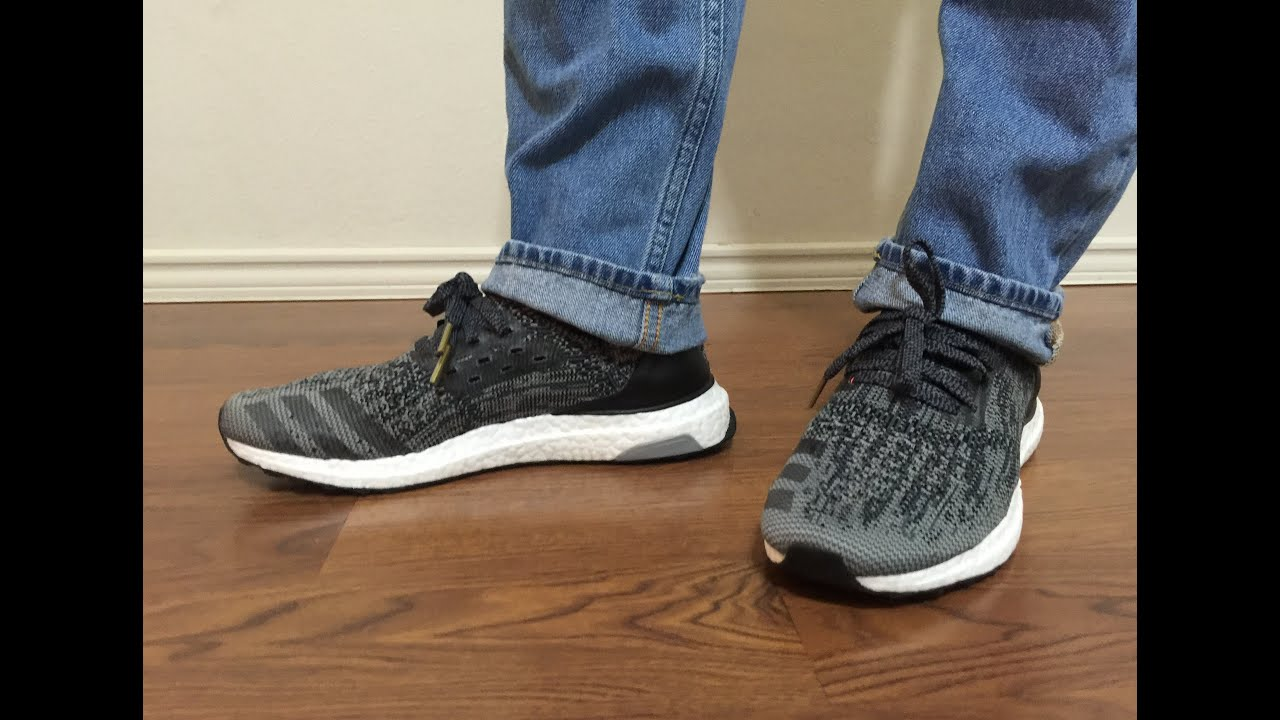 b75b967ed0faa Adidas Uncaged Ultraboost Black Grey Black unbox and on feet review ...