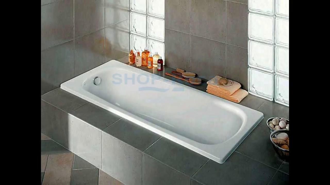 Ванна чугунная Roca Continental 160х70 арт.212912001 - YouTube