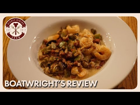 Boatwright's Dining Hall Review | Disney Dining Show | 02/23/18