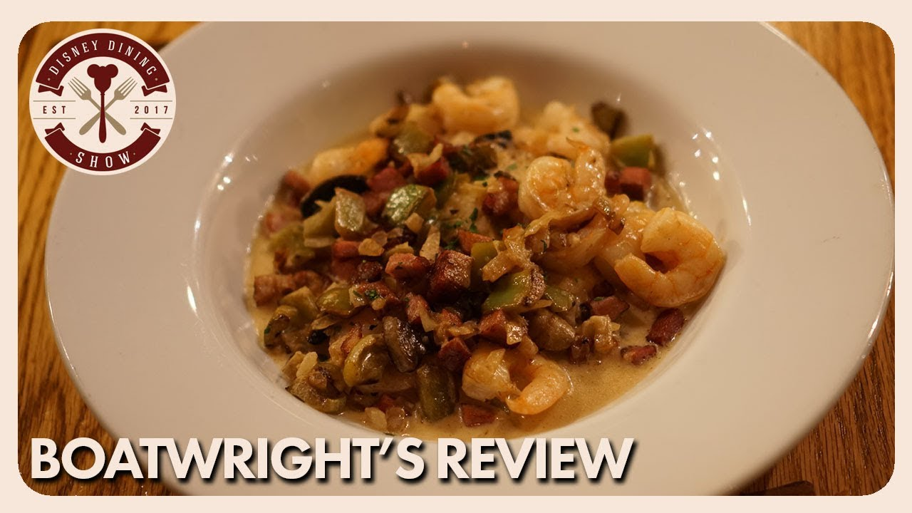 Boatwright S Dining Hall Review Disney Dining Show 02 23 18 Youtube