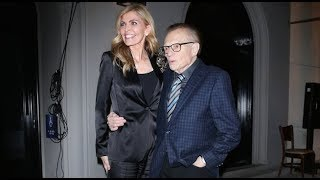 Larry King And Wife Shawn Have Fun With The Paps After Dinner