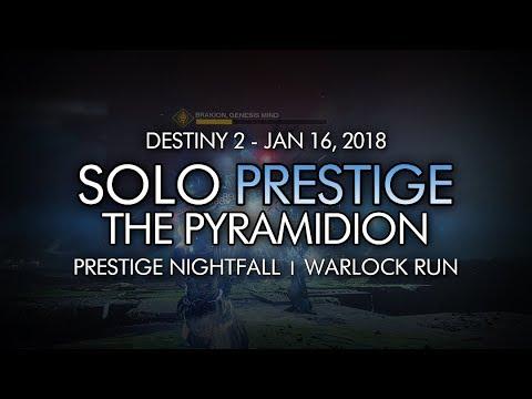 Destiny 2 - Solo Prestige Nightfall: The Pyramidion (Warlock - Week 20)