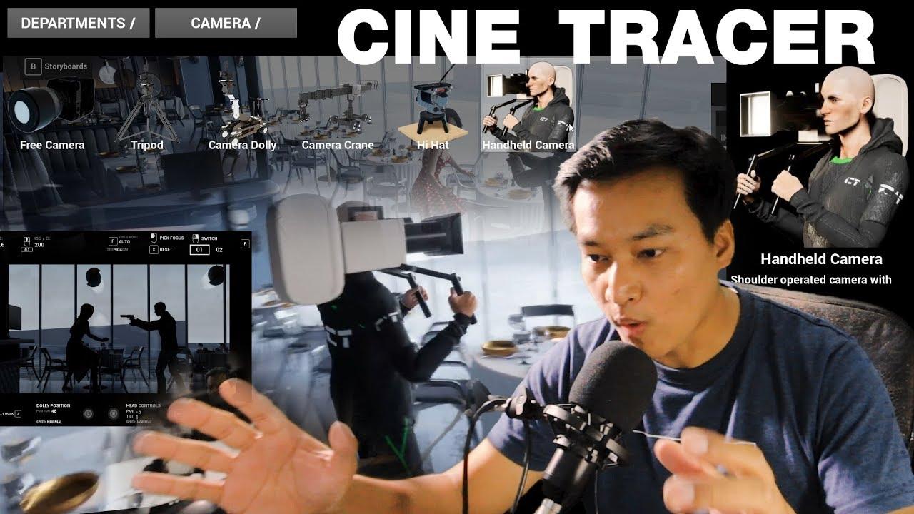 Cine Tracer Review เกมสำหรับคนอยากทำหนัง