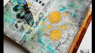 'Ages'... art journaling