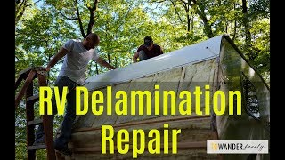 RV Delamination Repair