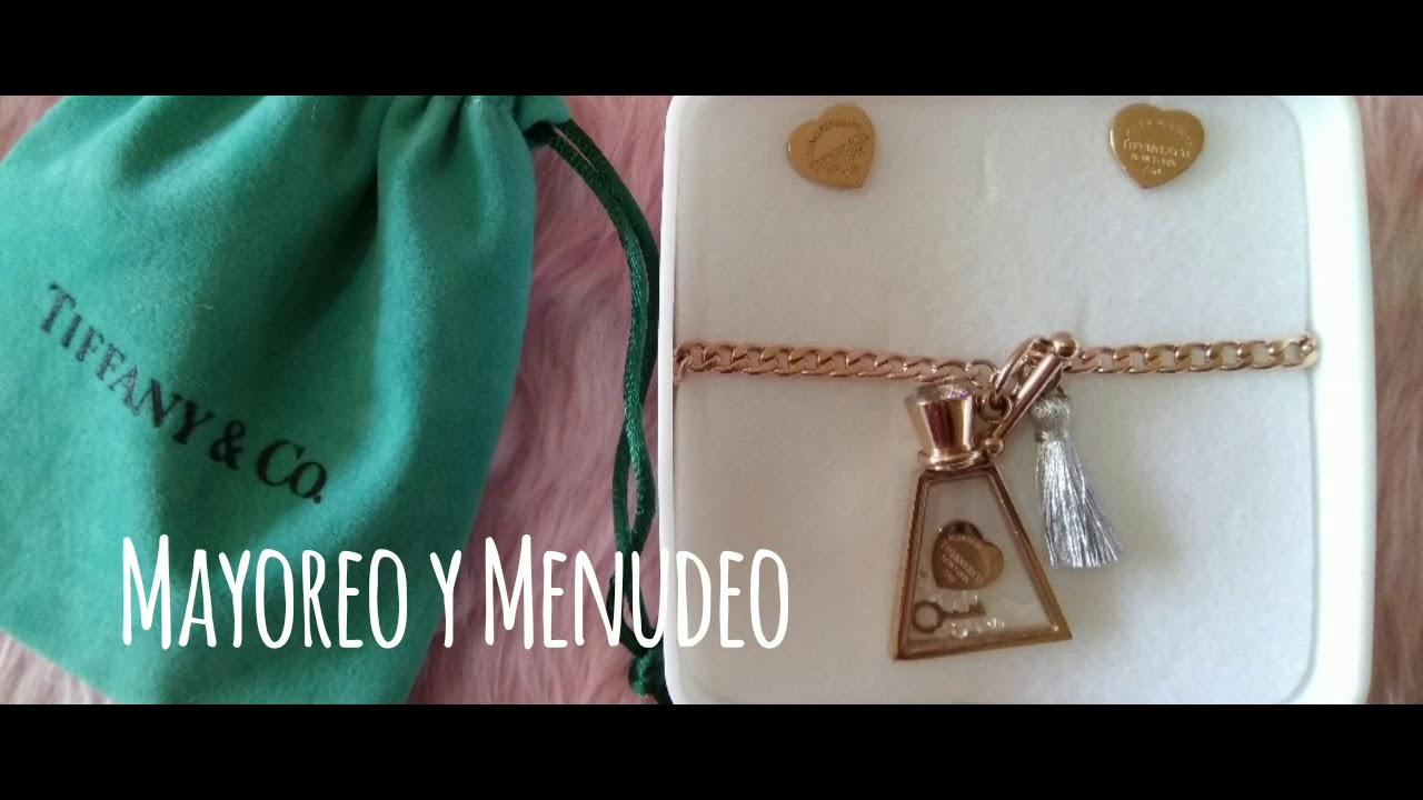 644d1670f3b0 Venta de joyería en acero inoxidable MAYOREO y MENUDEO. Corazón Dorado