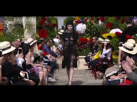 FRANCK SORBIER Fashion Show Haute Couture Fall 2016 Paris by Fashion Channel