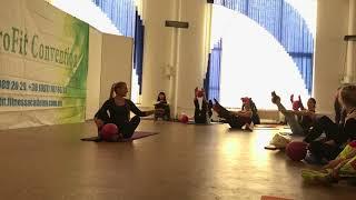 Pilates MiniBall / Пилатес с маленьким мячом ProFit