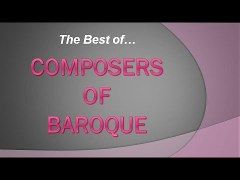 Best of top 10 Composers of Baroque