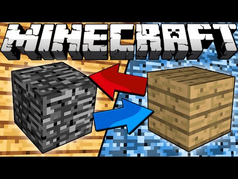 Thumbnail: If Bedrock and Wood Switched Places - Minecraft