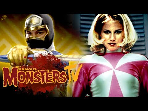 Interview with Pink & Gold Power Rangers - Famous Monsters TV