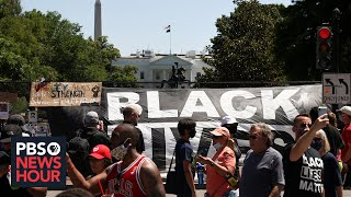 How American voters view Trump's handling of racial unrest and COVID-19