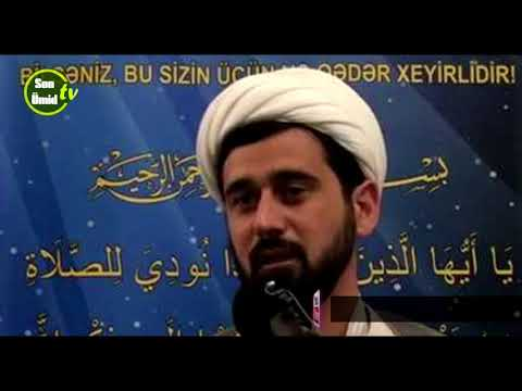 Hacı Rza Nəfslə bübarizə 1-ci dərs