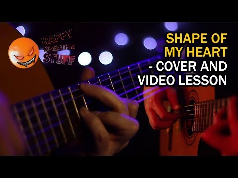 Shape of my Heart - Sting - Cover Song and Video lesson