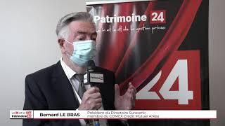 Bernard LE BRAS, Président du Directoire Suravenir, membre du COMEX CM Arkéa, annonce des taux