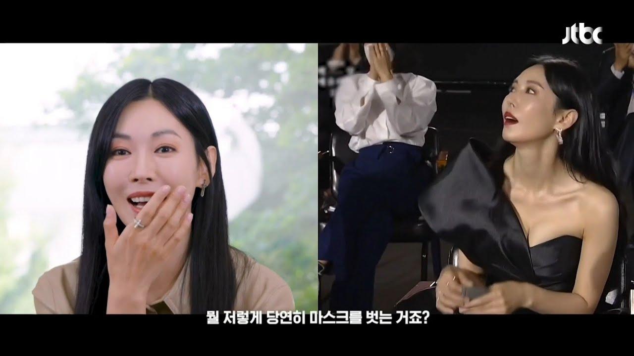 김소연 뭘 저렇게 당연하게 마스크를 벗는거죠?