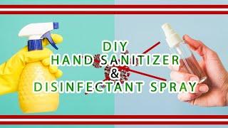 Diy cara sederhana membuat disinfectan & hand sanitizer spray murah dengan natural antiseptic water