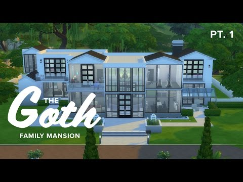 The Goth Family  |  New Mansion Speed Build PT. 1