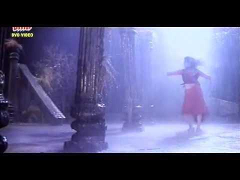 Sheeba Rain Song In Red Saree