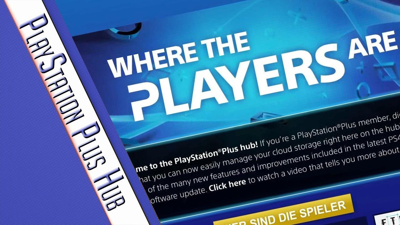 Playstation Plus Hub Ps4 Tutorial Youtube