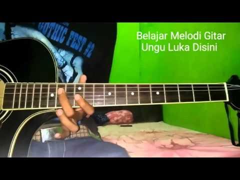 Belajar Melodi Gitar Ungu Luka Disini