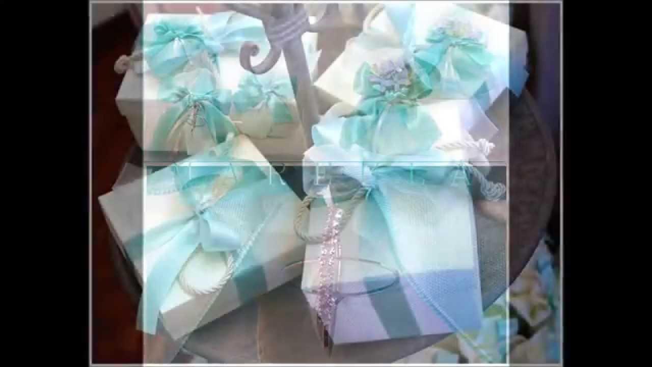 Amato Idee Crea Matrimonio verde tiffany bomboniere - YouTube JT68