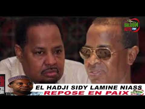 """""""L'enterrement de mon frère sera à Kaolack le vendredi 07 Décembre"""", Ahmed Khalifa Niass"""
