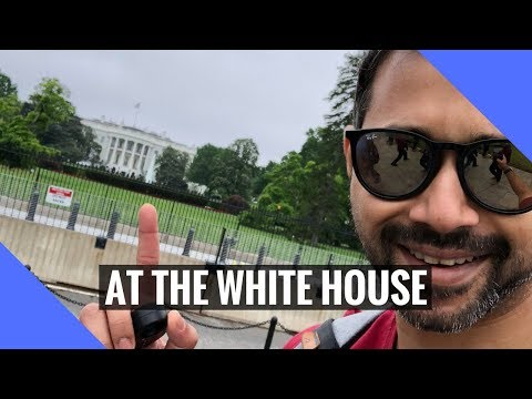 I went to the White House!