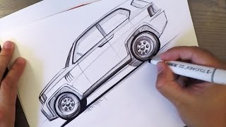 BiC SUV Sketch with Prius Wheels!